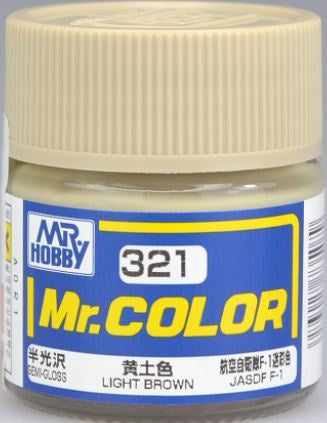 Mr Color 321 - Light Brown (Semi-Gloss/Aircraft) C321