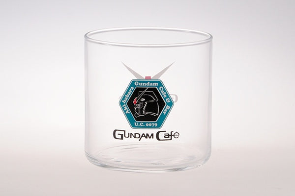 Gundam Cafe Logo Glass