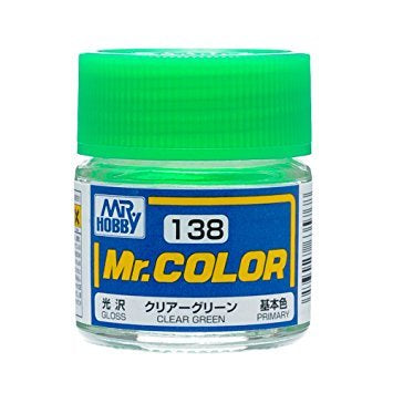 Mr. Color 138 - Clear Green (Gloss/Primary) C138