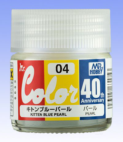 Mr. Color 40th Anniversary - Kitten Blue Pearl AVC04
