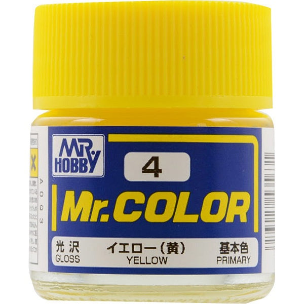 Mr. Color 4 - Yellow (Gloss/Primary) C4