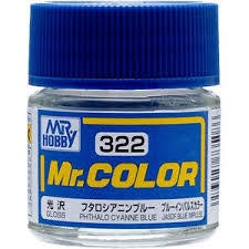 Mr. Color 322 - Phthalo Cyanne Blue (Gloss/Aircraft) C322