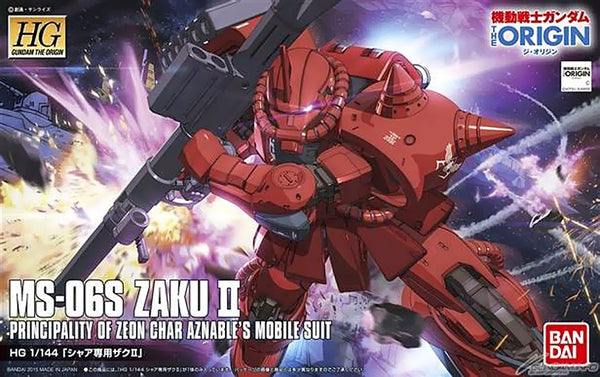 The Origin - HG 1/144 Char's Zaku II