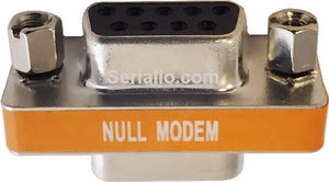 DB9 F/F Mini Gender Changer NULL MODEM