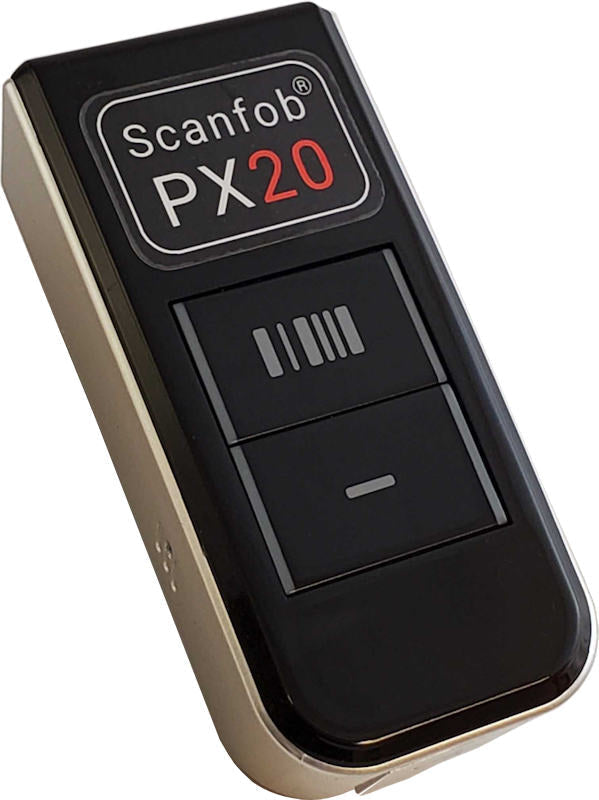 Scanfob® PX20 Fast Wireless Barcode Scanner 2D+1D iOS, Android, Windows+