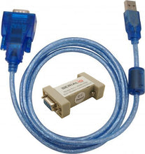 USB Serial Port RS232 5V Power on Pin9 Current Limited Windows & Mac with null-modem female-female adapter