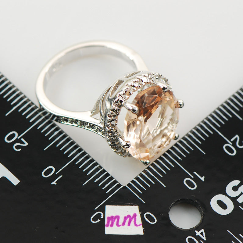 "Morganite ""Audrey"" Ring"