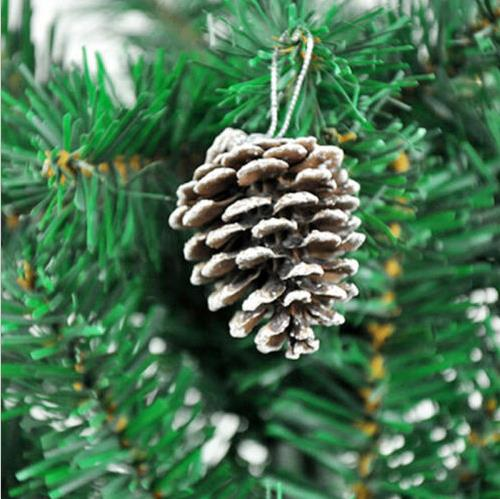 9-Piece Hanging Pine Cone Decoration