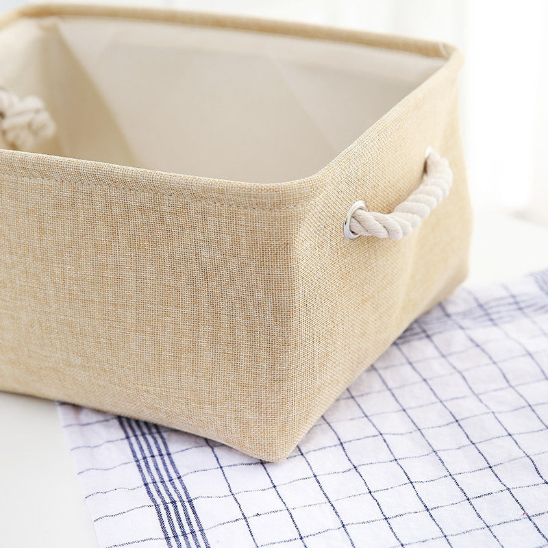 BUNDLE OFFER!! Modern Linen Storage Organizer w/Rope Handles