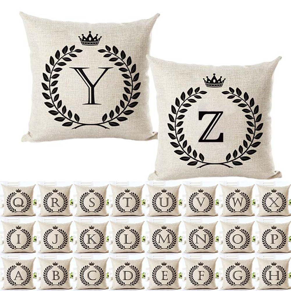 Customizable Cotton Modern/Traditional Pillow