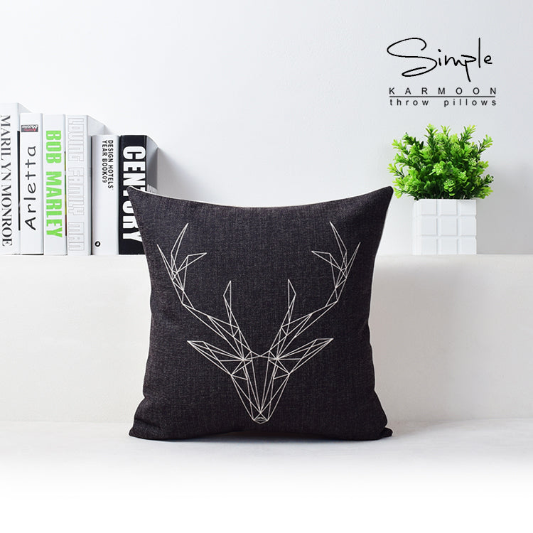 Rustic, 'Country-Theme' Decor Pillows