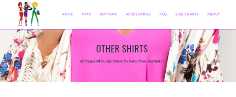 Aesthetic Tumblr Womens Clothing Online