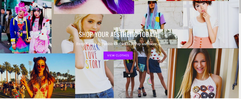 Aesthetic Womens Clothing Online