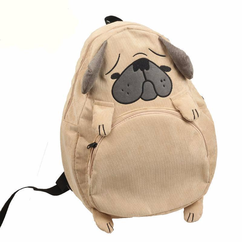 Cute Dog & Fox Ear Backpack