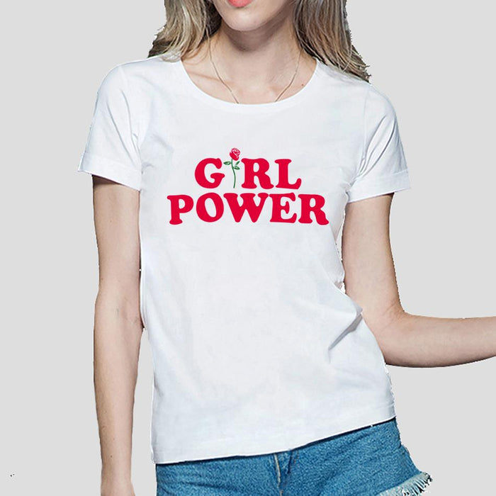 GIRL POWER T-SHIRT-Shop My Aesthetic