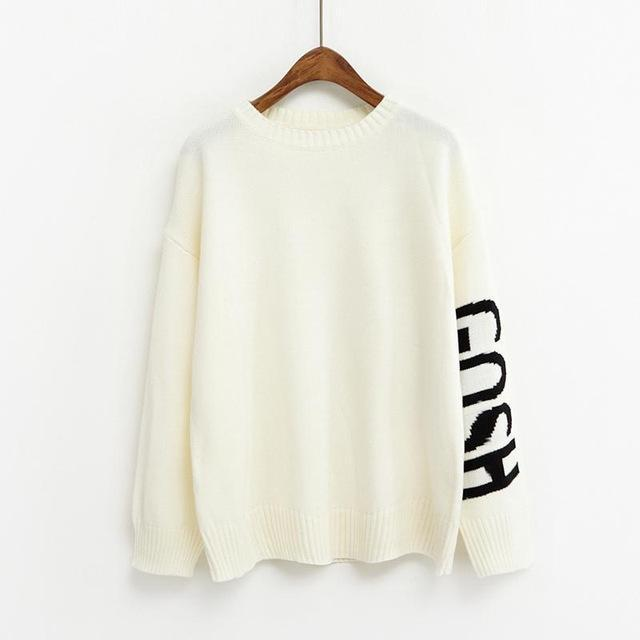 Gosh Print College Sweater