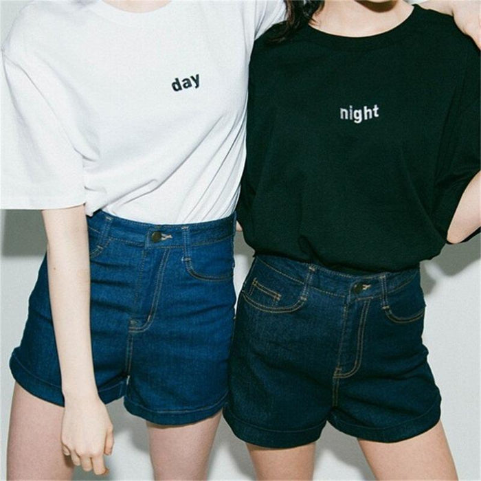 NIGHT OR DAY T-SHIRT-Shop My Aesthetic