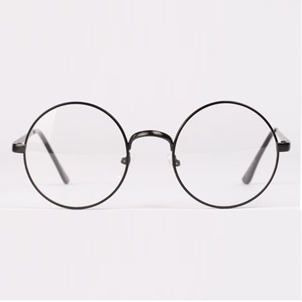 Retro Round Metal Frame Glasses
