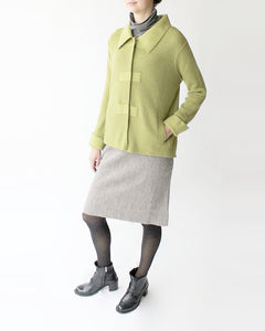 Evelyn Alpaca Classic Collar Cardigan
