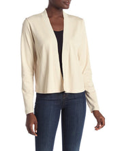 Luxe Easy Cotton Interlock Cardigan