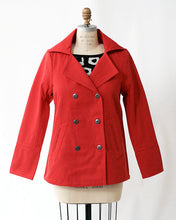 Bridgette Cotton Canvas Peacoat