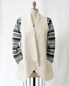 Cotton Canvas Odessa Vest