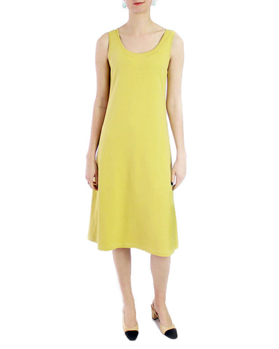 Luxe Cotton Interlock Dress