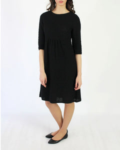 Honey Comb Knit Alpaca Dress