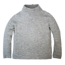 Zip Back Alpaca Mock Neck Pullover Sweater in Discontinued Colors