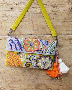 Buttercup Embroidered Handbag