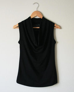 Pima Cotton Draped Tank