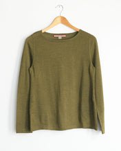 Baby Alpaca Lightweight Long Sleeve Layering Tee