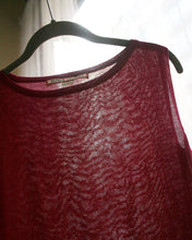 Baby Alpaca Lightweight Knit Tank Top