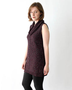 Sleeveless Alpaca Cowl Tunic