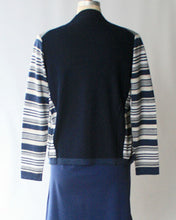 Nautical Stripe Pima Cotton Easy Knit Cardigan