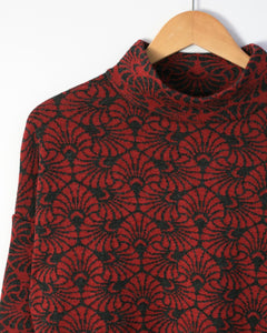Nautilus Jacquard Patch Pocket Pullover