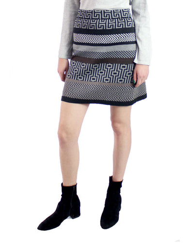 Peruvian Mix Printed Pima Cotton Skirt