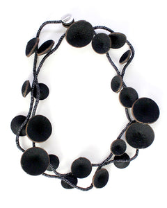 Douli Recycled Fiber Wrap Necklace