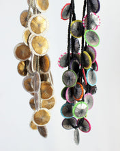 Parasols Recycled Textile Necklace
