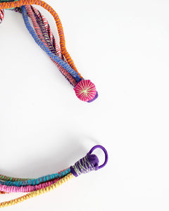 Fiorella Recycled Textile Necklace