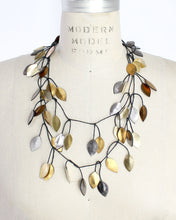 Vine Recycled Textile Wrap Necklace