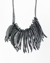 Flecos Fringe Recycled Textile Necklace