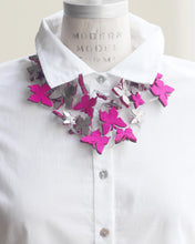 Mariposas Recycled Textile Necklace