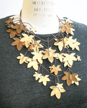 Sycamore Recycled Textile Necklace