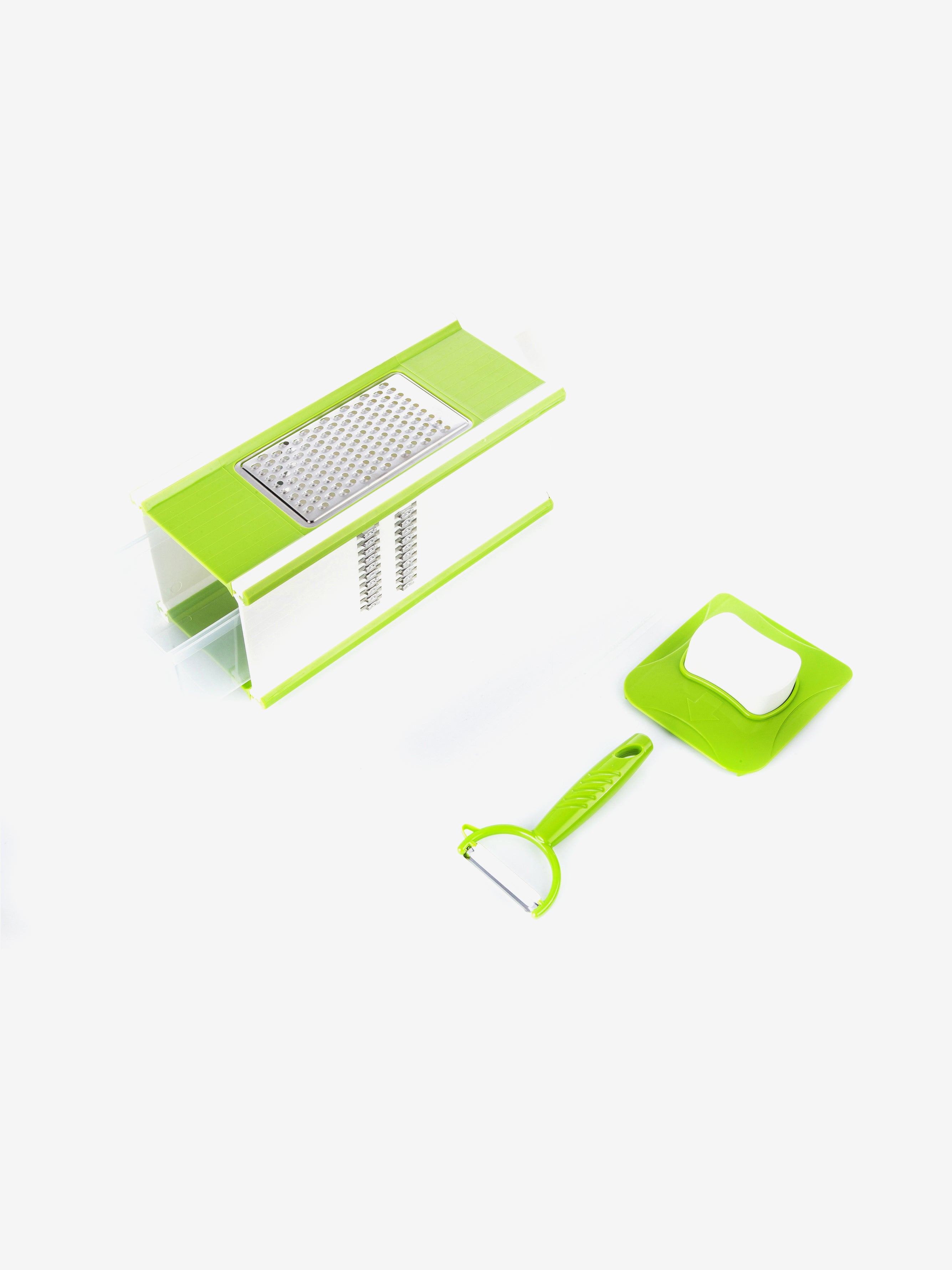 Multi-Purpose Square Slicer in Neon Green