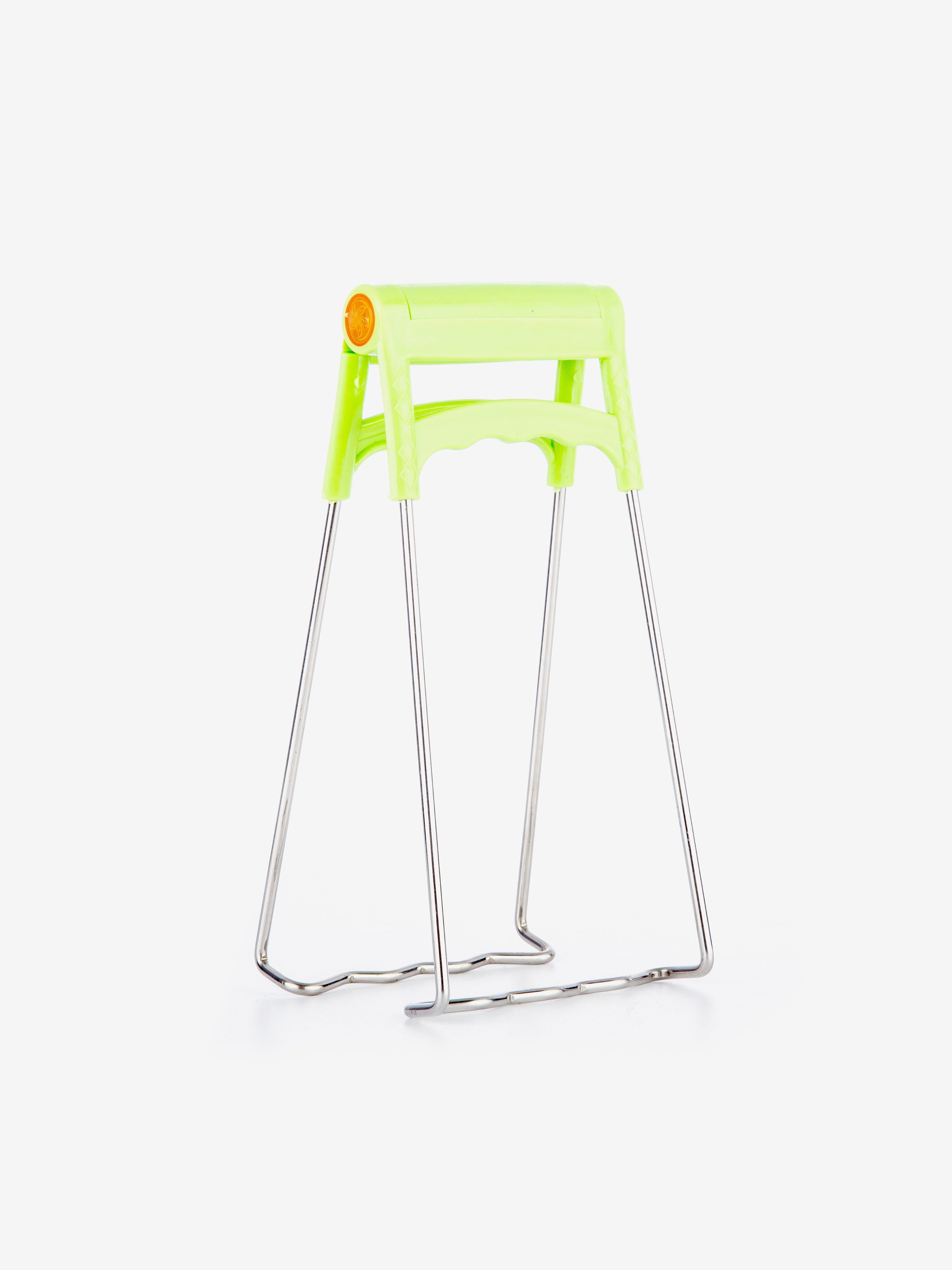 Plate Clamp in Neon Green