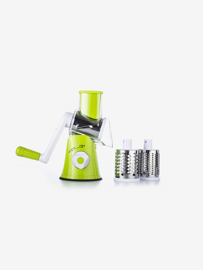 Multi-Function Slicer & Grater in Neon Green