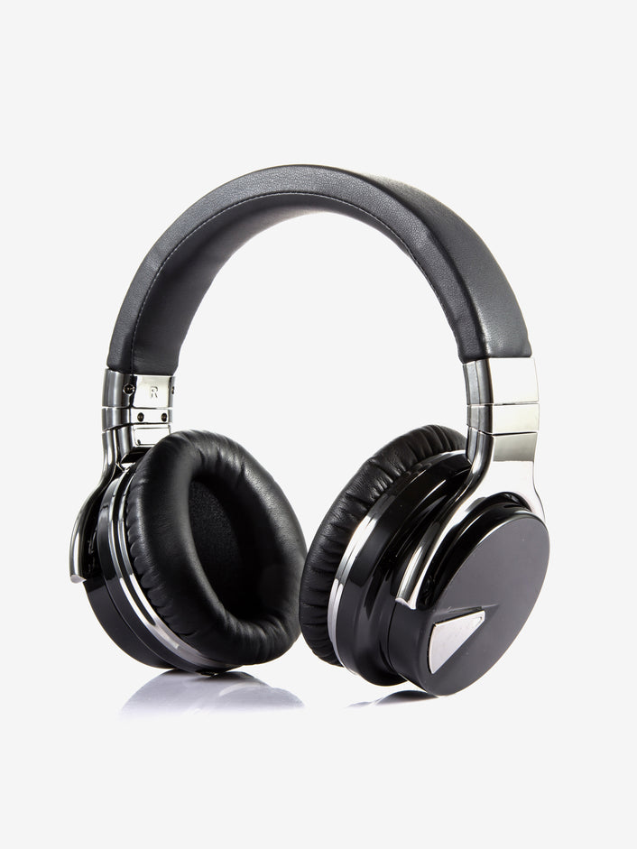 Noise Canceling Wireless Bluetooth Headphones in Black