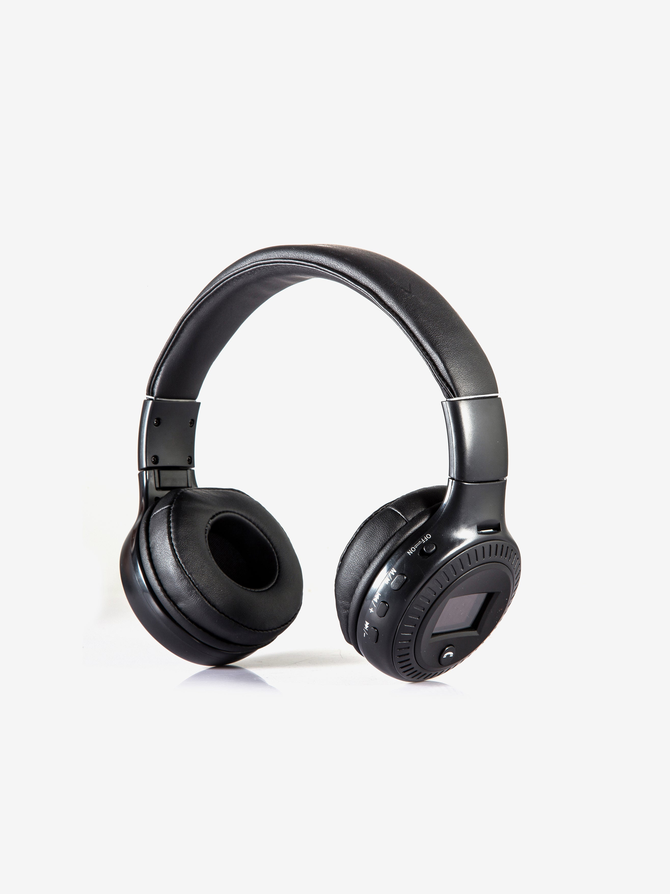 Zealot Wireless & FM Radio Headphones in Black