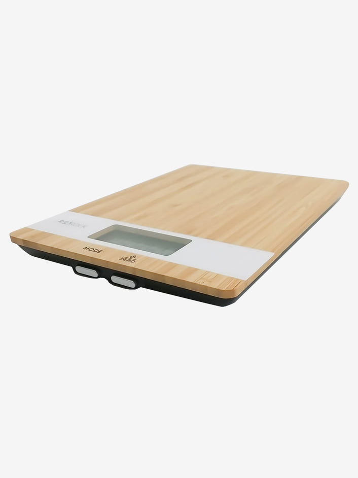 Bamboo Digital Kitchen Scale in Natural